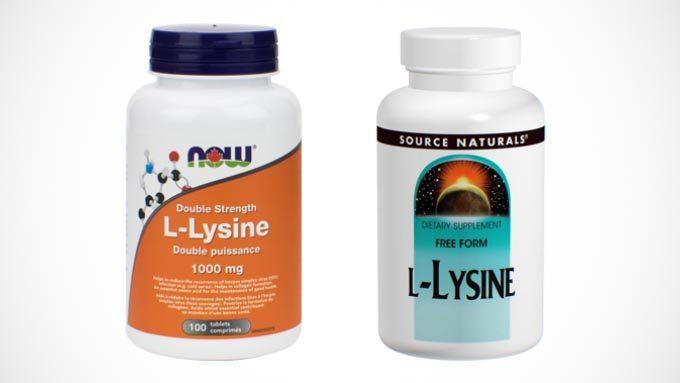 低価格な海外製L-リジンサプリメント2種