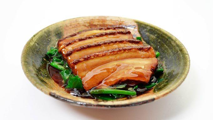 ゼラチンが豊富な豚の角煮
