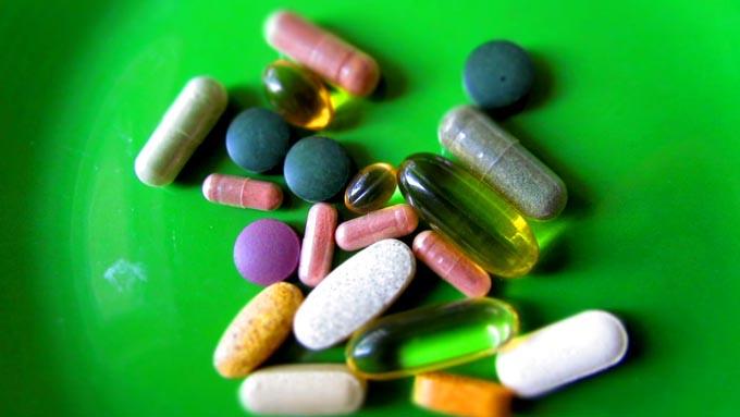ヘルペス予防用のビタミン剤